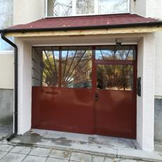 Ремонт и изработка на покрив за външната козирка на входа